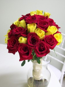 What does your rose tell about your relations ferns n petals red and yellow rose mightylinksfo