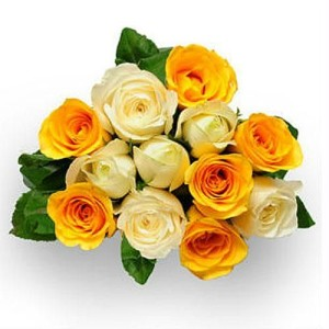 flower_8._a-bunch-of-yellow-n-white-roses-flower