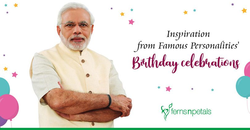 Get inspired by how these Famous Personalities celebrate their birthdays