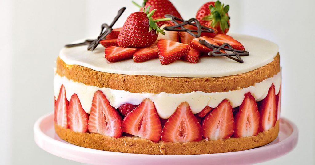 Home backed Cake