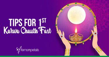 Tips For 1st Karwa Chauth