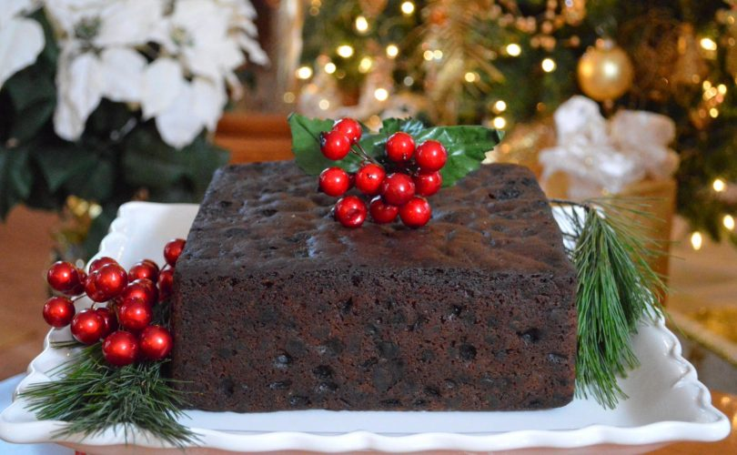 Christmas Fruit Cake.Learn The Easy Recipe Of Christmas Fruit Cake Ferns N Petals