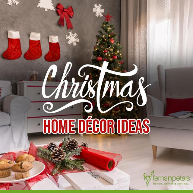 4 Easy Diy Christmas Home Decor Ideas Ferns N Petals