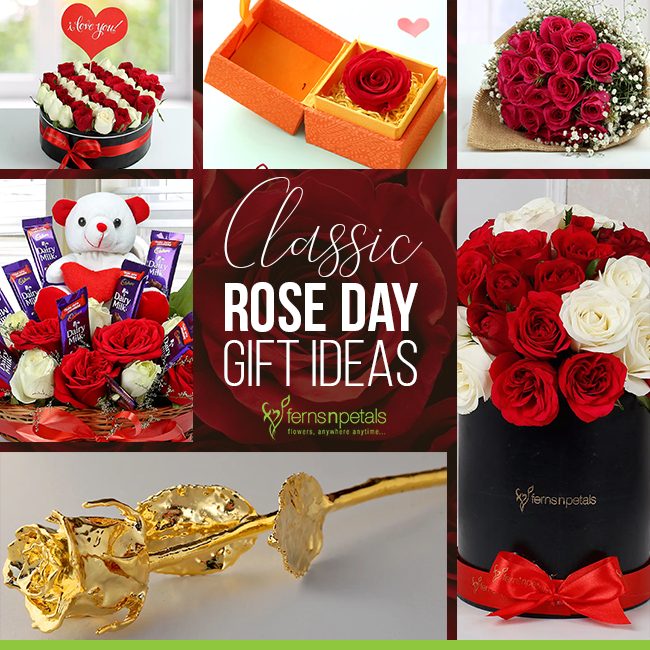 Classic Rose Day Gifts