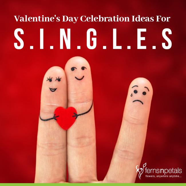 Singles Way of Valentine Celebration