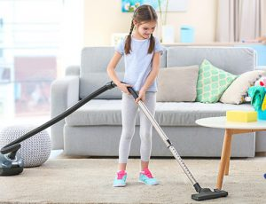 Cleaning House for Surprising Mom
