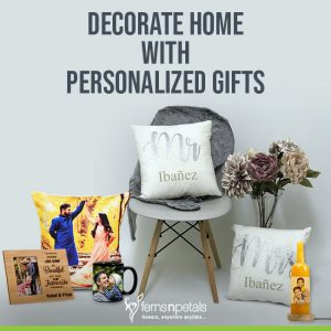 Ideas To Decorate Home With Personalized GIfts