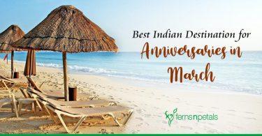 Best Indian Destination for Anniversaries in March