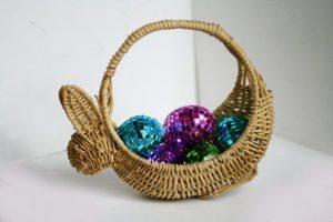 Bunny Shaped Storage Basket