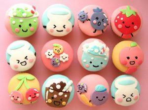 Colorful cake Balls
