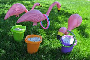 Flamingo Toss Game