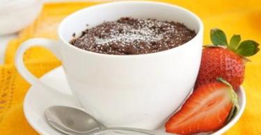 Brownie in a Mug