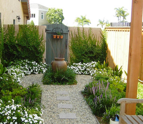 Small Garden Landscaping Ideas Ferns N Petals