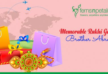 Send Love To your Brother Abroad with Rakhi Gifts