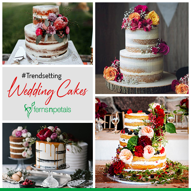 #trendsetting wedding cake designs
