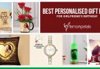 Best Personalised Gifts For Girlfriend's Birthday
