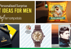 surprise with personalised gifts for men