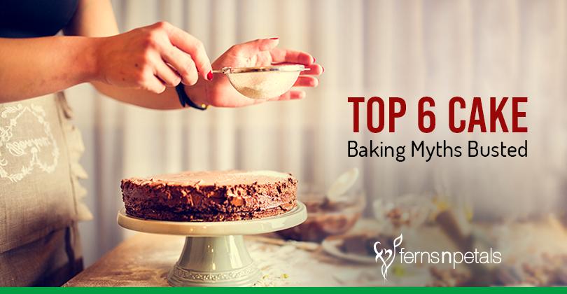 cake baking myths busted