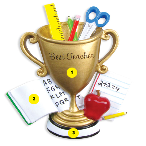 Best Teacher Trophy