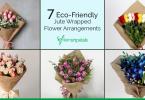 Jute Wrapped Flowers