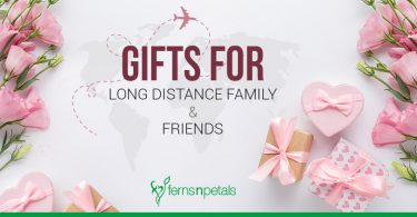 gifts for long distance family and friends