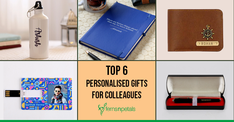 Top 6 Personalised Gifts for Colleagues