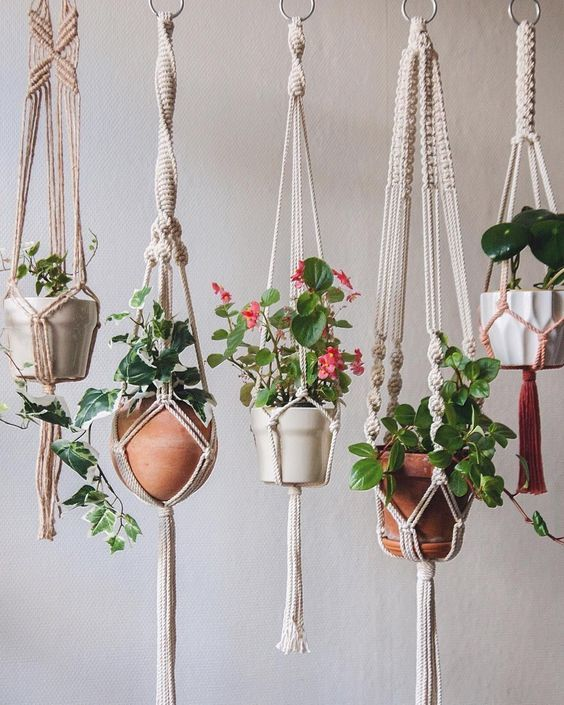 Hanging Terracotta Vertical Garden