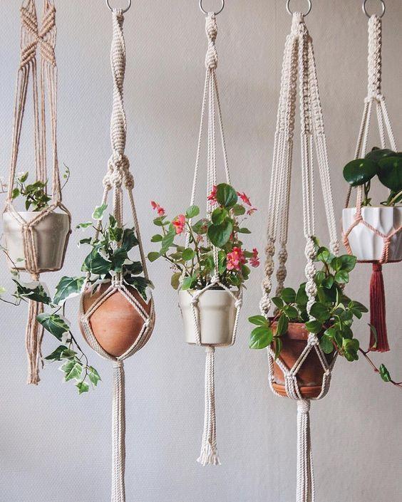 Hanging Terracotta Vertical Garden