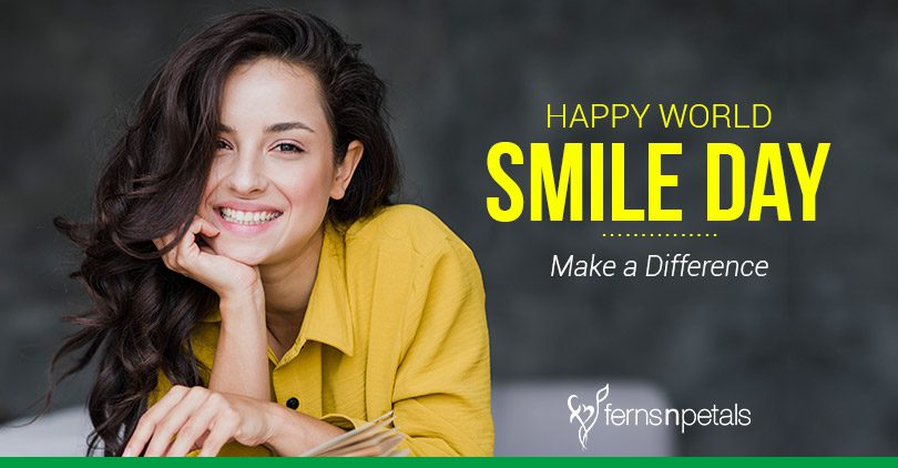 world smile day - 3rd Oct