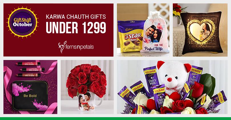 Karwa Chauth Gifts Under INR 1299