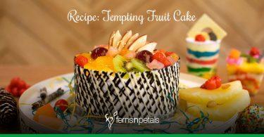 tempting fruit cake