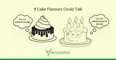 if cake flavours could talk