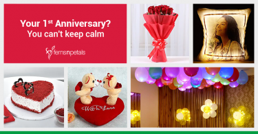 1st Anniversary- ways to impress your better half