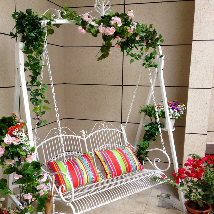 climbing plants for your swing