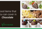 food items to dip in chocolate