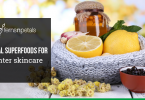 herbal superfoods for winter skincare