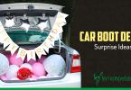 Car Boot Decor