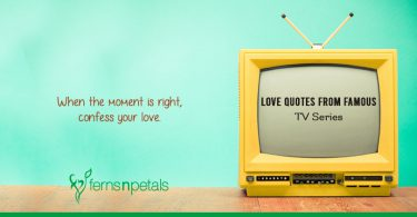 Love quotes from famous TV series