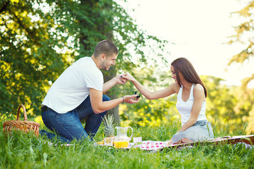 Propose At the Place Where You First Met