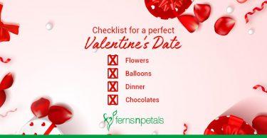 Checklist for a Perfect Valentine's Date
