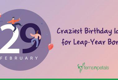 crazy birthday ideas for leaplings