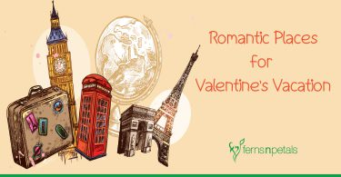 romantic places for valentines vacation