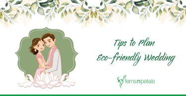 tips to plan eco friendly wedding-