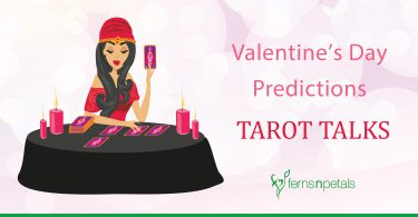 tarot talks for Valentine's Day