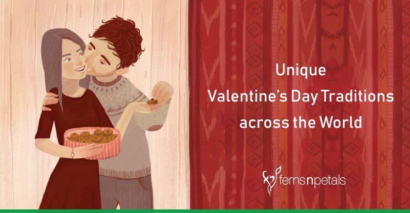unique valentine's day tradition across the world