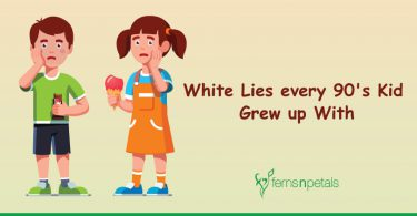 White lies every 90's Kid Grew up with