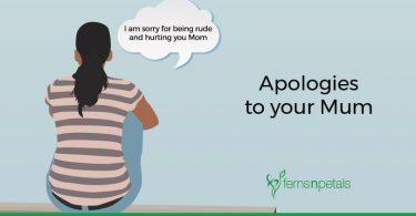 Heartfelt Apologies to your Mum