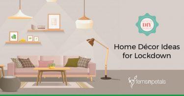 DIY home decor ideas for lockdown
