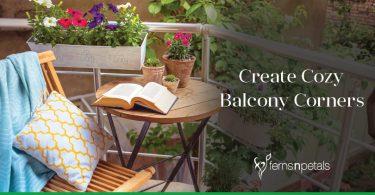 How to create a cozy Balcony Corner