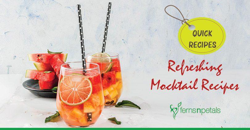 Refreshing Mocktail Recipes for Summer Season